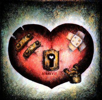 La Phrase d'Amour du Jour dans la vie coeur-blesse